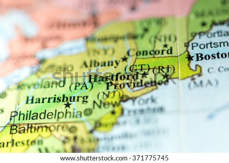 Connecticut Map Stock Images RoyaltyFree Images Vectors - Map of usa connecticut