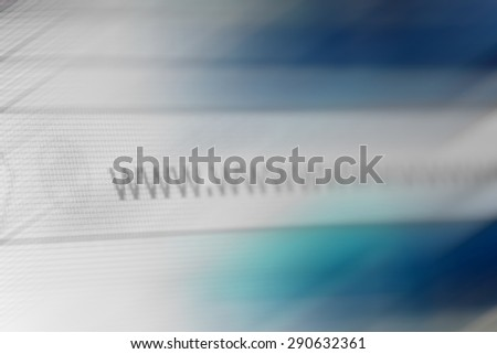 Closeup of Http Address in Web Browser in Shades of Blue - Shallow Depth of Field