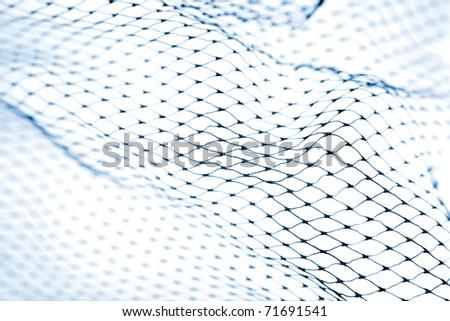 Closeup of netting - stock photo