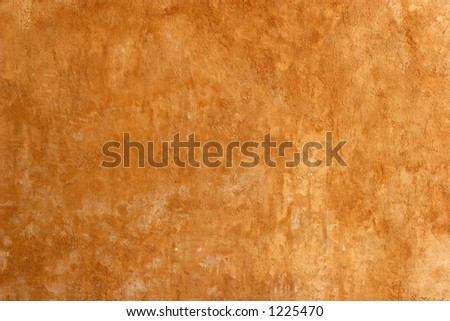 Closeup of old stucco wall. - stock photo
