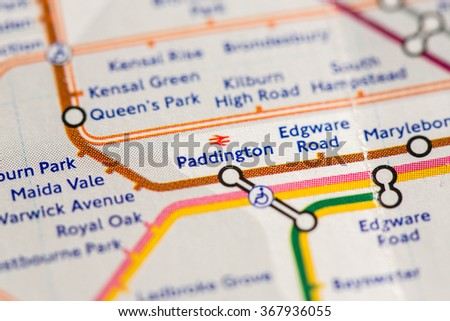 Closeup of Paddington - stock photo