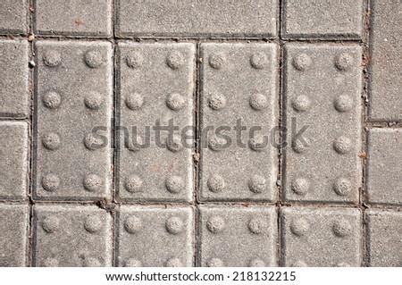 closeup of pavement surface texture - stock photo