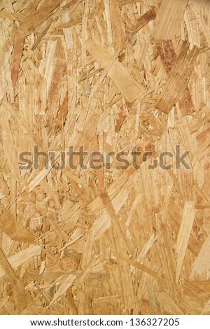 Closeup of pressed wood texture - stock photo