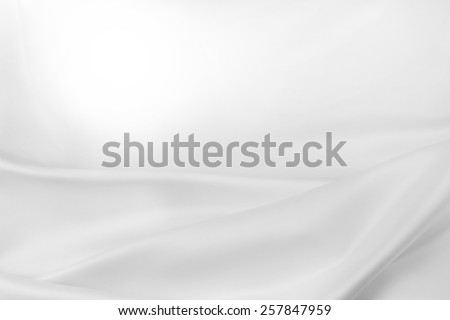 Closeup of rippled silk fabric. Advertising copy space - stock photo