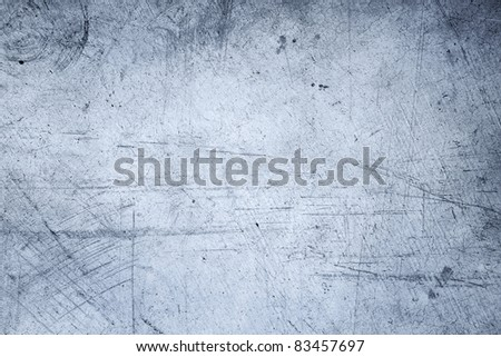 Closeup of rough blue background - stock photo