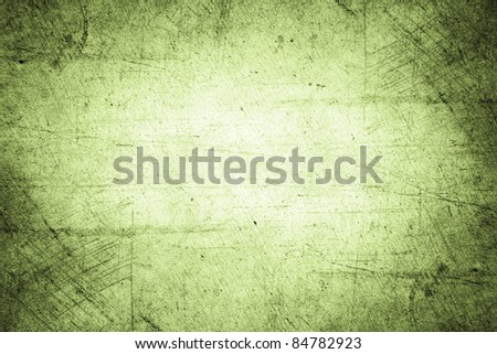 Closeup of rough green background - stock photo