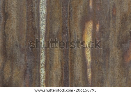 closeup of rustic galvanized steel surface - stock photo