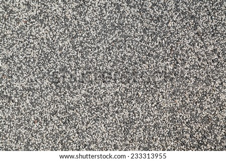 Closeup of seamless gravel texture background - stock photo