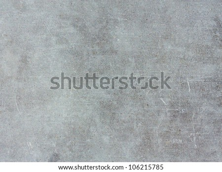 Closeup of smooth concrete wall - textured background - stock photo