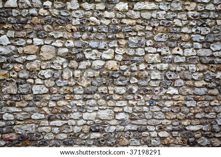 Closeup of stone wall use for designers - stock photo