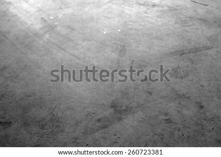 Closeup of textured concrete floor - stock photo