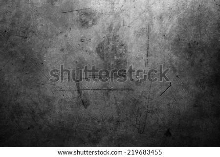 Closeup of textured grey wall - stock photo