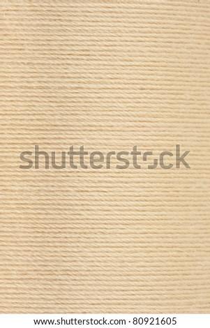 Closeup of thread texture - stock photo