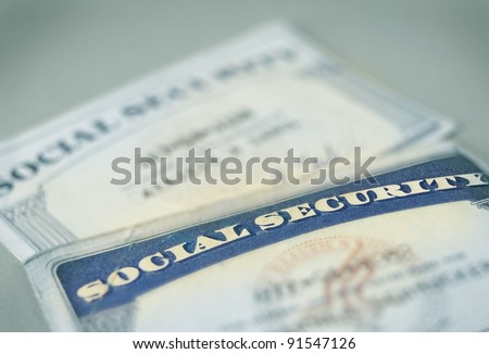 Social Security Card Stock Images, Royalty-Free Images & Vectors