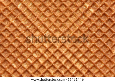 Closeup of wafer background texture - stock photo