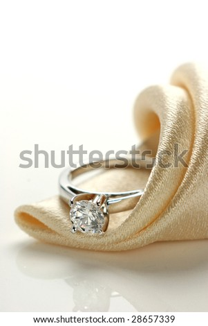 Closeup of Wedding Ring.