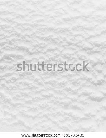 closeup of white ice cream surface - stock photo