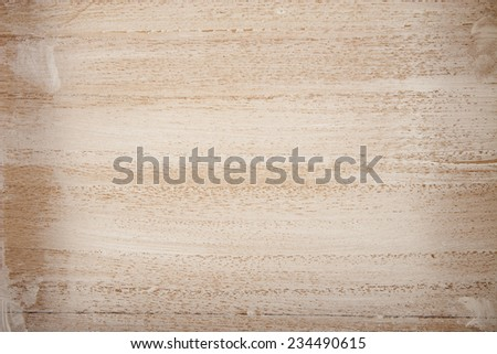 closeup of white painted wooden board - stock photo