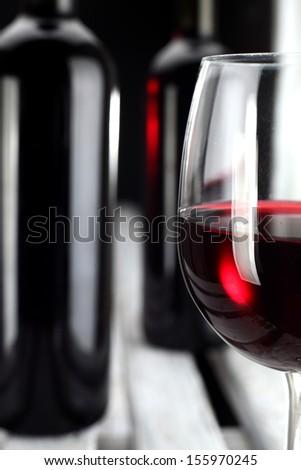 closeup of wine  - stock photo