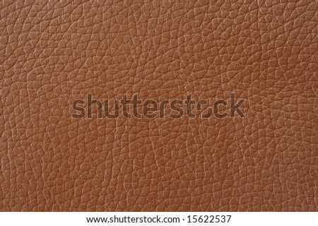 Closeup on a leather texture - stock photo