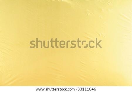 Closeup photo of abstract golden metallic background - stock photo