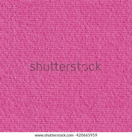 Closeup pink paper. Seamless square texture. Tile ready. - stock photo