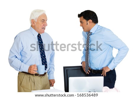 """younger boss old employee problem 10 tips for working for a younger boss  don't act old  how a young boss survives 'abusive senior employees' show your boss your """"authentic age"""" at work."""