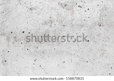 Closeup seamless gray concrete wall background texture - stock photo
