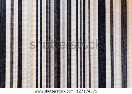 Closeup textile background with stripes - stock photo