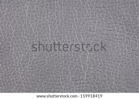 Closeup texture of gray leather for background - stock photo