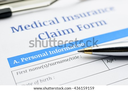 Claim Form Stock Images RoyaltyFree Images  Vectors  Shutterstock
