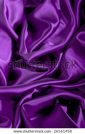 closeup view of purple satin perfect for abstract background. Part of a series - stock photo