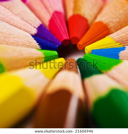 closeup view of the pencil background
