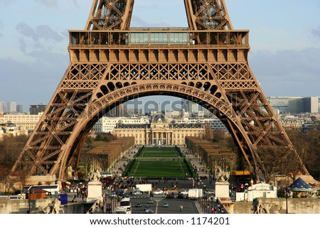 First floor stock images royalty free images vectors for Floors of the eiffel tower