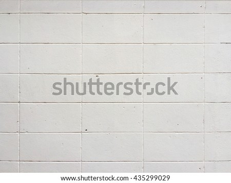 closeup white brick wall  texture
