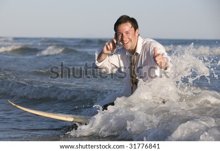 Closing Another Deal - stock photo
