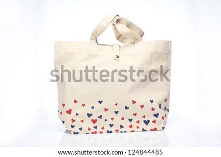 Cloth bag. - stock photo