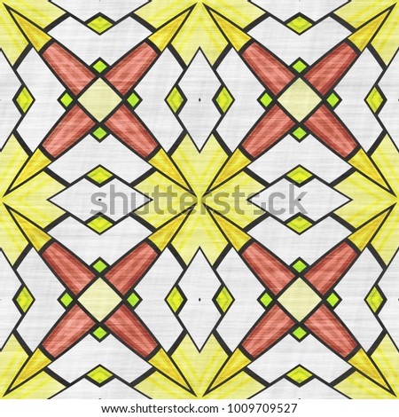 Cloth Textile Fabric Pattern Sacred Ornament Stock Illustration ...
