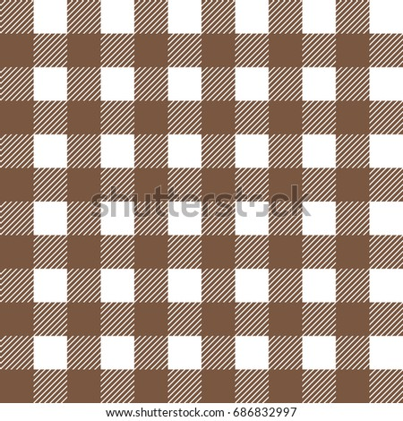 Delicieux Cloth Texture,tablecloth Texture,brown Checkered Seamless Pattern