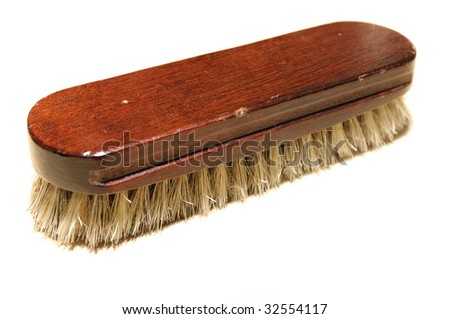 clothes brush - stock photo