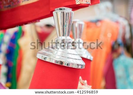 clothes dummy - stock photo