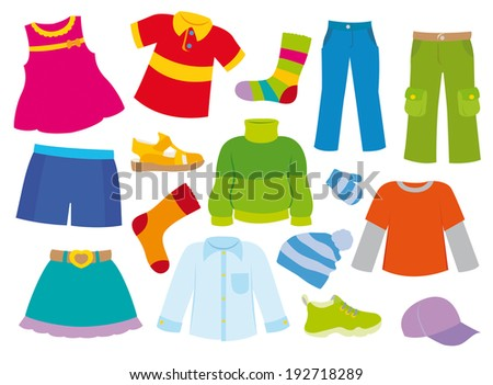 clothes for girls and boy