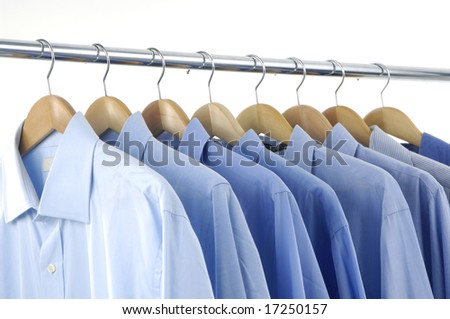 clothes hanger with shirt