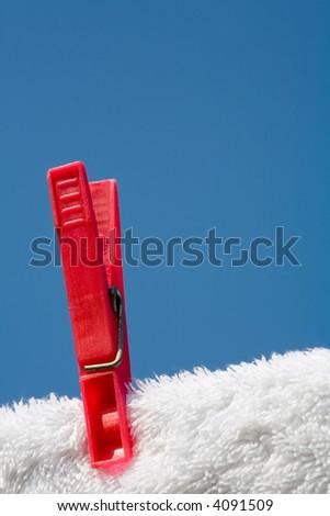 Clothes pin - stock photo