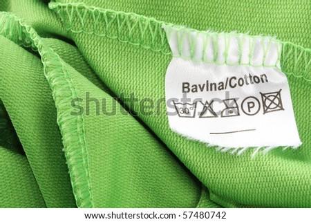 Clothing label - stock photo