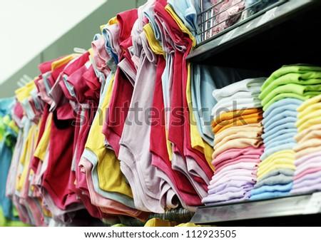 Clothing Shop - stock photo