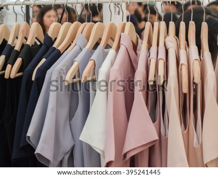Clothing Store for sale - stock photo