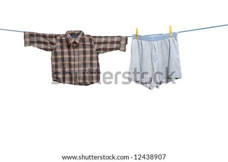 cloths drawn