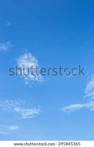 Cloud and Blue Sky. - stock photo