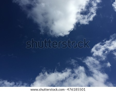 Cloud and sky nature background